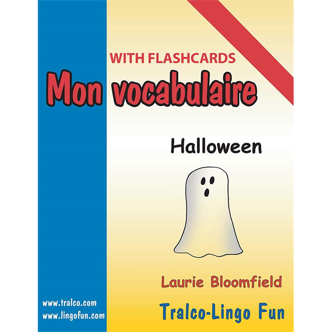 Mon vocabulaire (with flashcards) - Halloween  (Downloadable eBook)