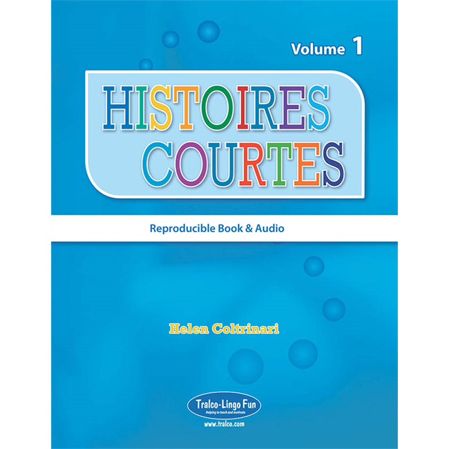 Histoires courtes 1 - Reproducible Reader (Downloadable eBook and audio files)