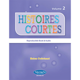 Histoires courtes 2 - Reproducible Reader (Downloadable eBook and audio files)