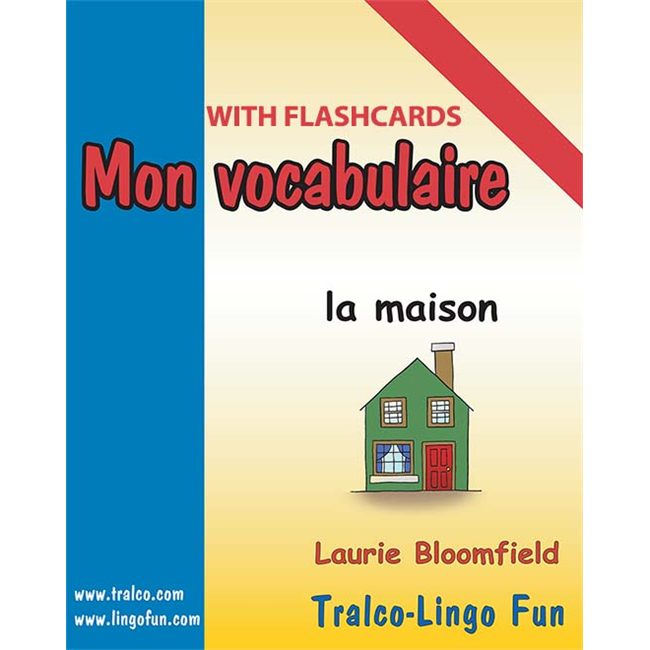 Mon vocabulaire (with flashcards) - La Maison (Downloadable eBook)