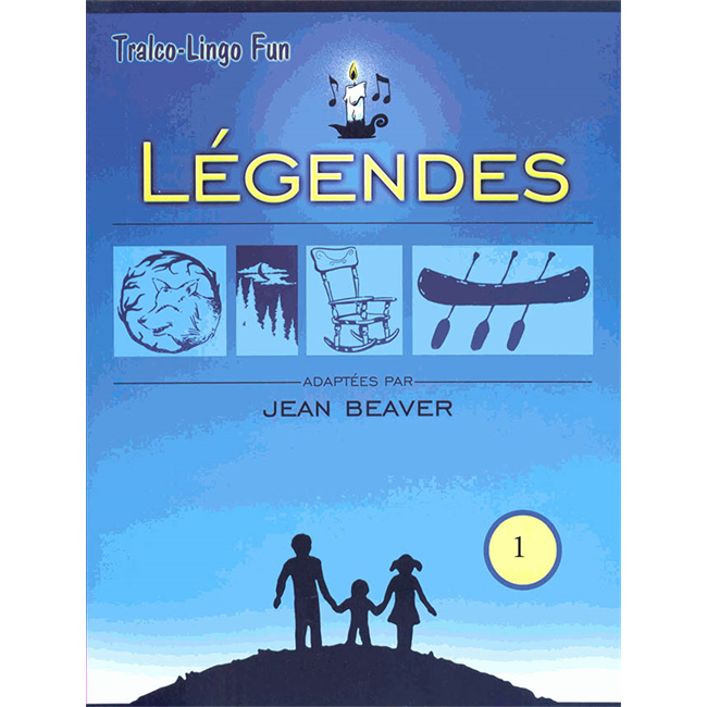 Légendes du Québec Volume 1 (Downloadable eBook)