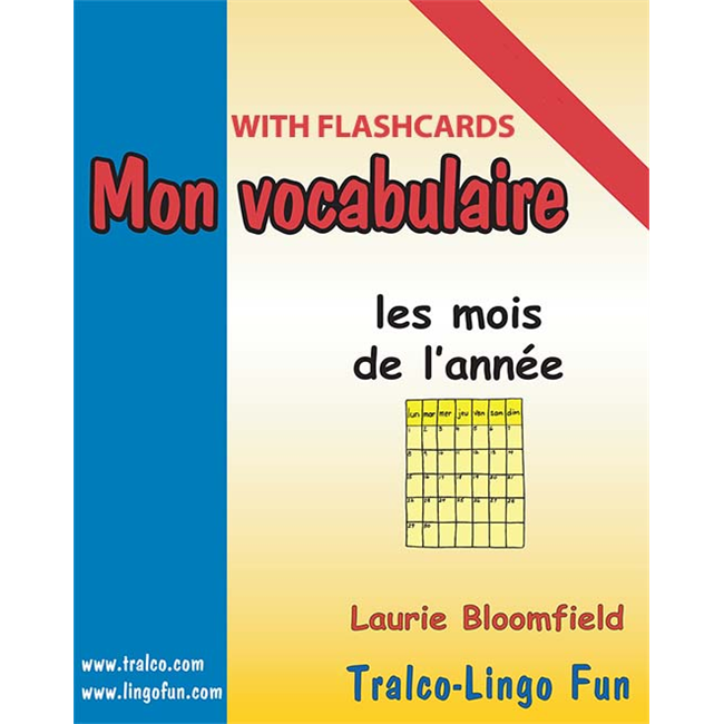 Mon vocabulaire (with flashcards) - Les Mois de l'année (Downloadable eBook)