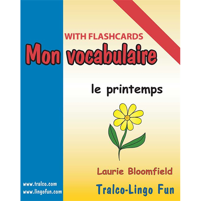 Mon vocabulaire (with flashcards) - Le Printemps (Downloadable eBook)