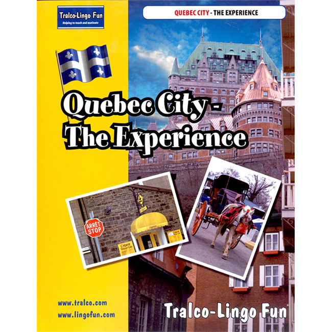 Quebec City The Experience (English version) (Downloadable eBook with link to streamed video)