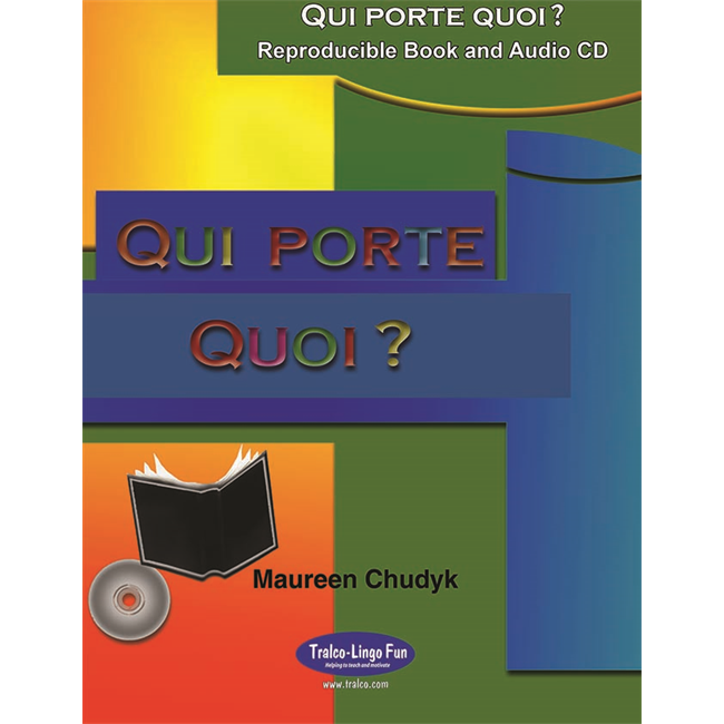 Qui porte quoi ? (Downloadable eBook with embedded audio files)