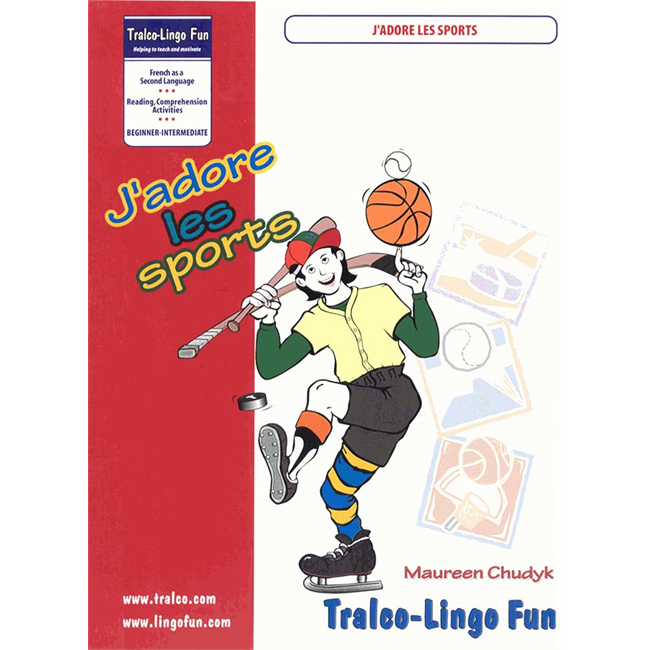 J'adore les sports (Downloadable eBook)