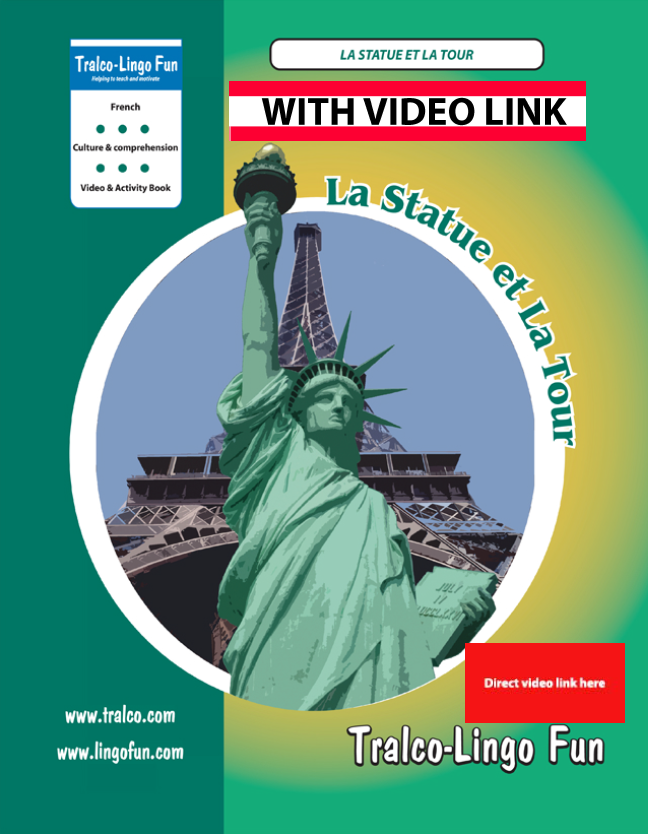 La Statue et la tour (French version) (Downloadable eBook with link to streamed video)