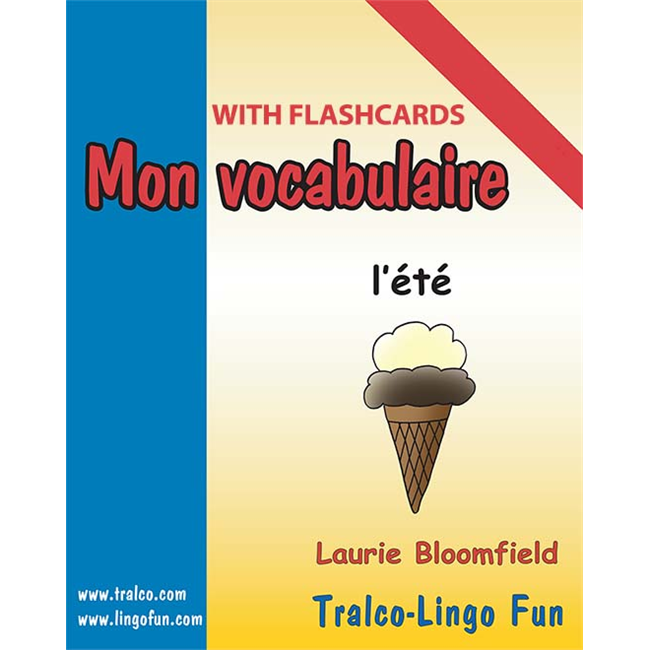 Mon vocabulaire (with flashcards) - L'Été (Downloadable eBook)