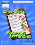 Survey Says...  Discutons, Apprenons ! (Downloadable eBook)
