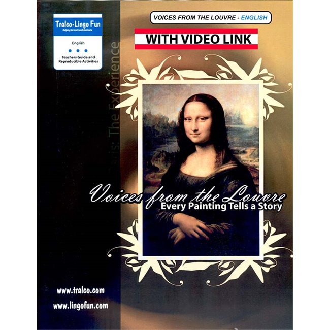 Voices from the Louvre (English version) (Downloadable eBook with link to streamed video)
