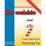 Mon vocabulaire (with flashcards) - Noël (Downloadable eBook)