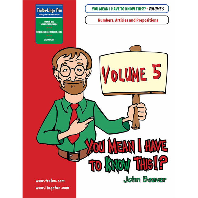 You Mean I Have to KNOW This!? Volume 5 (Downloadable eBook)