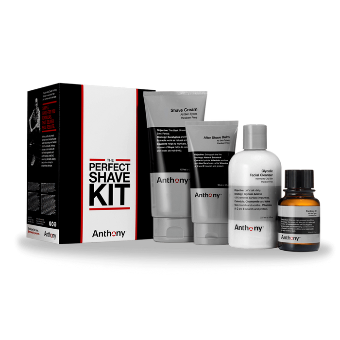 Anthony The Perfect Shave Kit - Stubbles Australia