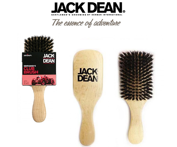 DENMAN JACK DEAN CLUB BRUSH - Stubbles Australia