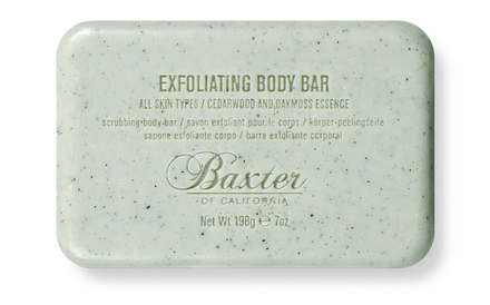 EXFOLIATING BODY BAR by Baxter of California - Stubbles Australia