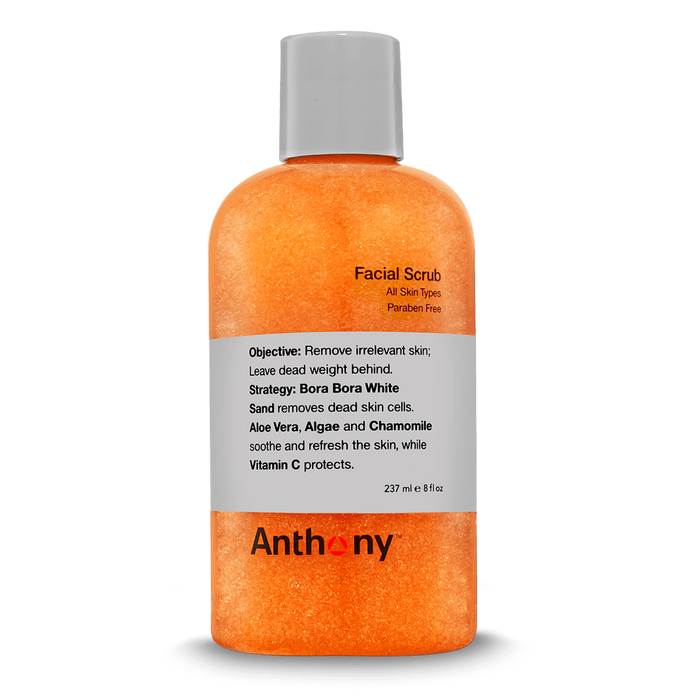 Anthony Facial Scrub - Stubbles Australia