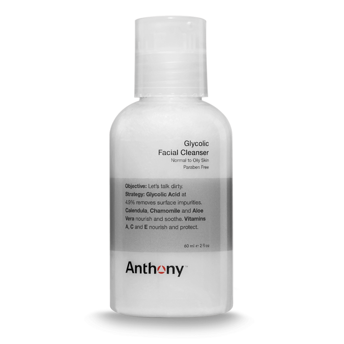 Anthony Glycolic Facial Cleanser 2oz - Stubbles Australia