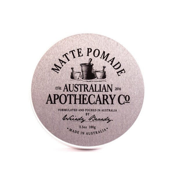 Matte Pomade Australian Apothecary Co. by Weirdy Beardy - Stubbles Australia