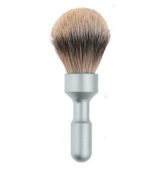 Merkur Futur Satin Chrome Brush - Stubbles Australia