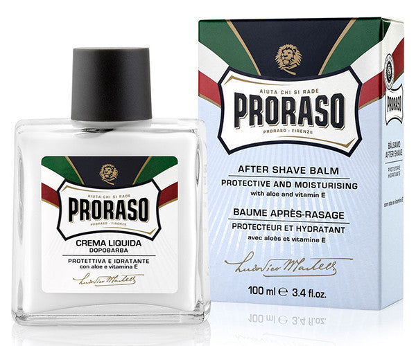 PRORASO AFTER SHAVE BALM ALOE - Stubbles Australia