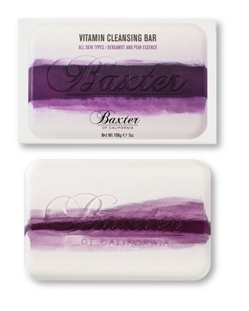 VITAMIN CLEANSING BAR - BERGAMOT & PEAR - Stubbles Australia