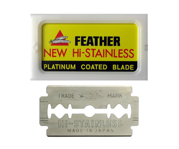 Feather Razor Co. Blades Double-Edge 5pc - Stubbles Australia
