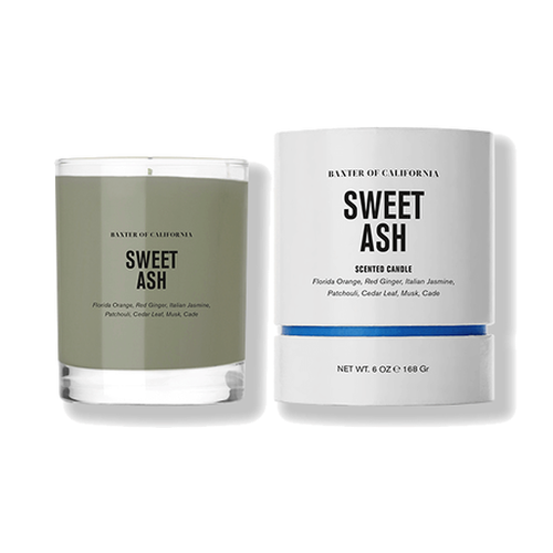 Baxter of California Candle Collection - Sweet Ash - Stubbles Australia