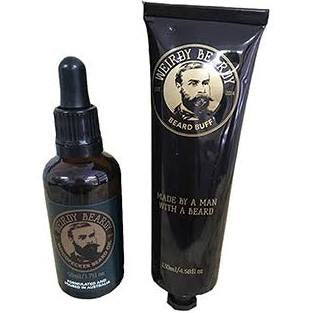 Weirdy Beardy - Woodpecker & Beard Buff Combo Pack - Stubbles Australia