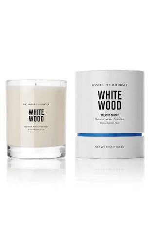 Baxter of California Candle Collection - Wood Ash - Stubbles Australia
