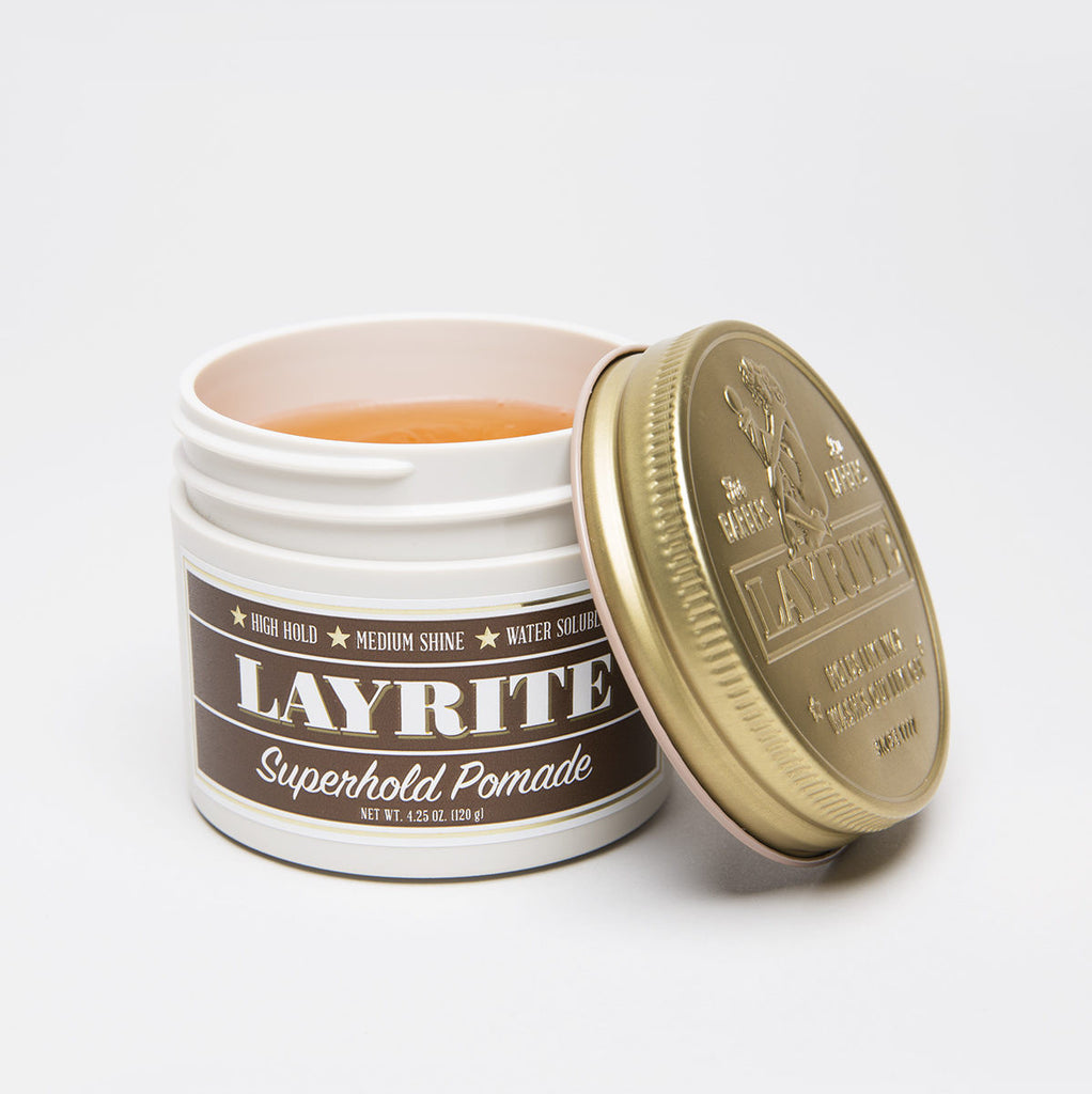 Superhold Pomade by Layrite - Stubbles Australia
