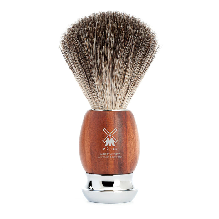 MÜHLE VIVO Pure Badger-Plum Wood - Stubbles Australia