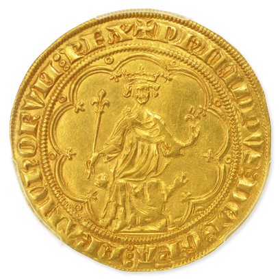 Remarkable coins: Philip the Fair's Masse d'or