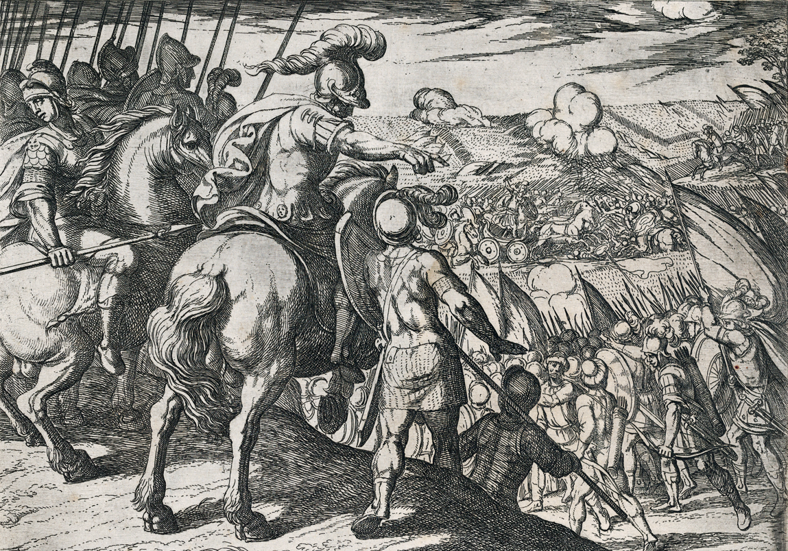 Alexander Directing a Battle, from The Deeds of Alexander the Great