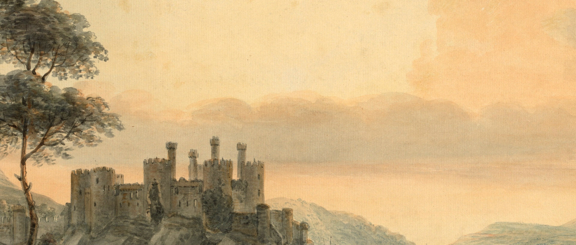 Paul Sandby - Conway Castle