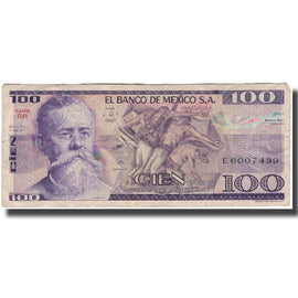 Billet, Mexique, 100 Pesos, 1974-05-30, KM:66a, TB+