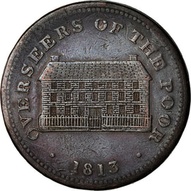 Monnaie, Grande-Bretagne, Staffordshire, Sheffield Overseers of the Poor, Penny