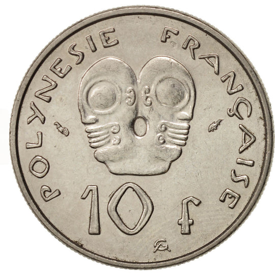 French Polynesia, 10 Francs, 1979, Paris, TTB+, Nickel, KM:8