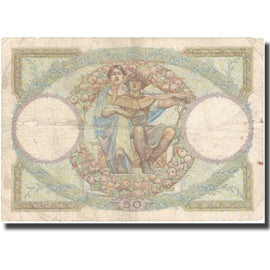 France, 50 Francs, Luc Olivier Merson, 1931, 1931-07-09, TB, Fayette:16.2