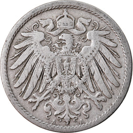 Monnaie, GERMANY - EMPIRE, Wilhelm II, 10 Pfennig, 1906, Berlin, TB+