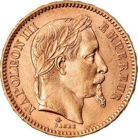 Monnaie, France, Napoleon III, 20 Francs, 1862, Paris, SUP, Or