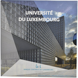Luxembourg, 2.5 EURO, Université du Luxembourg, 2019, Proof, FDC, Argent
