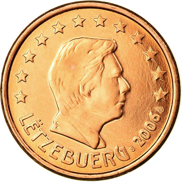 Luxembourg, Euro Cent, 2006, SPL, Copper Plated Steel, KM:75