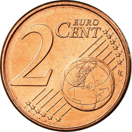 Pays-Bas, 2 Euro Cent, 1999, SPL, Copper Plated Steel, KM:235