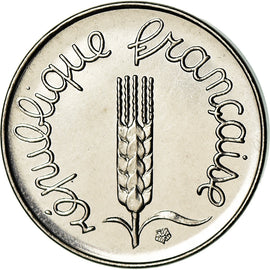 Monnaie, France, Épi, Centime, 1975, Paris, FDC, Stainless Steel, Gadoury:91