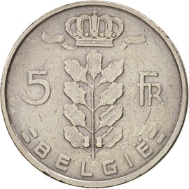 Belgique, 5 Francs, 5 Frank, 1948, TTB, Copper-nickel, KM:135.1