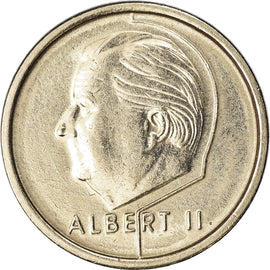 Monnaie, Belgique, Albert II, Franc, 1995, TTB, Nickel Plated Iron, KM:188