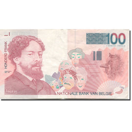 Billet, Belgique, 100 Francs, 1995-2001, Undated (1995-01), KM:147, TTB