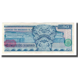 Billet, Mexique, 50 Pesos, 1976, 1976-07-08, KM:65b, SPL