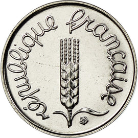 Monnaie, France, Épi, Centime, 2001, Paris, FDC, Stainless Steel, Gadoury:91