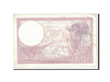 Billet, France, 5 Francs, 1939, 1939-08-24, TTB+, Fayette:4.7, KM:83